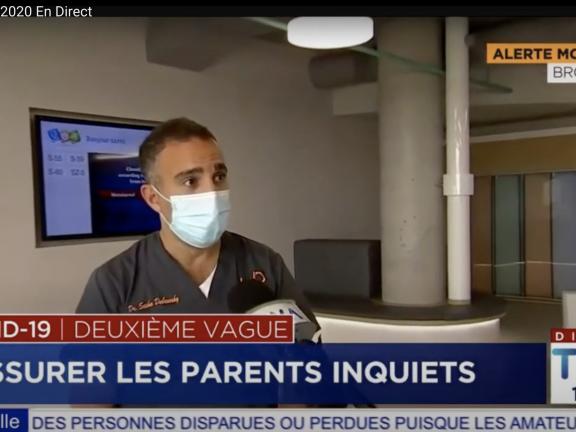 UP se mobilise pour les enfants en pleine pandémie